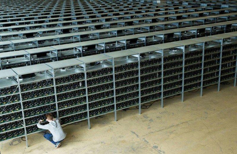 bitcoin bányászfarm