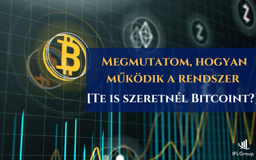 Te is szeretnél Bitcoint? Megmutatom, hogyan működik a rendszer