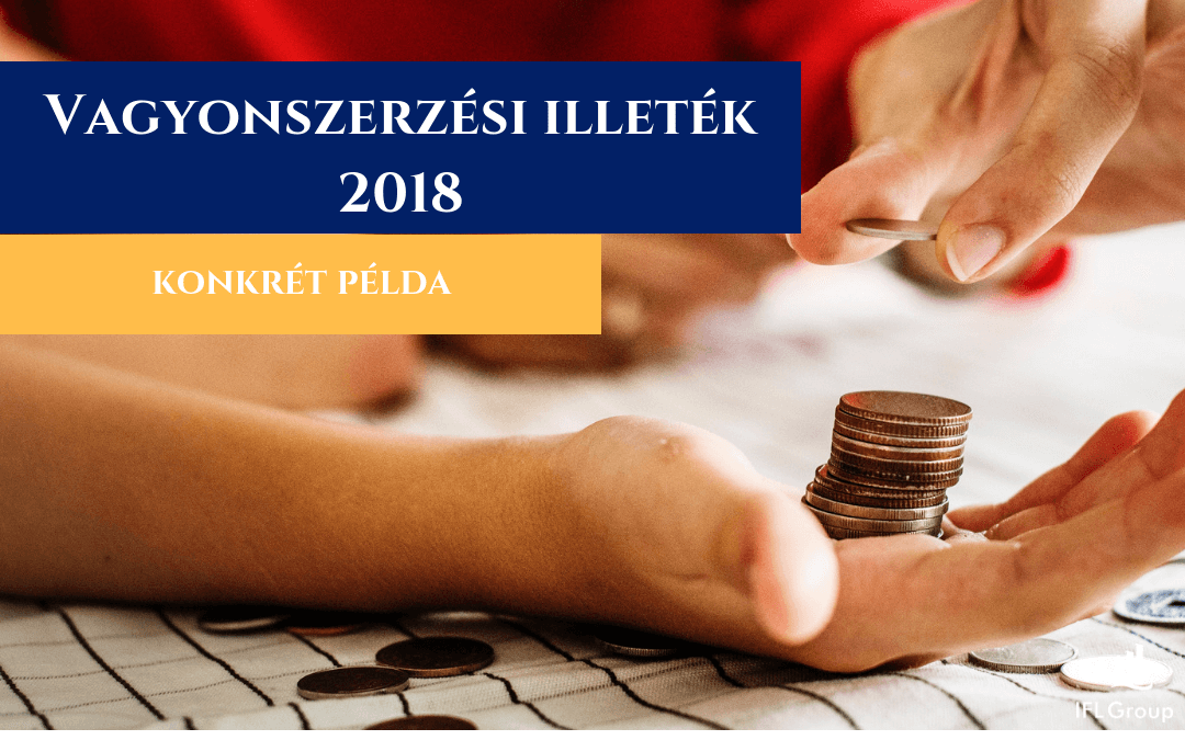vagyonszerzési illeték 2018