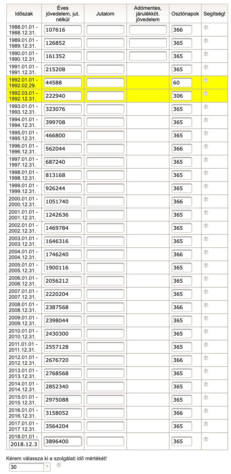 ONYF nyugdíjkalkulátor számítás - hogyan számold ki a saját nyugdíjadat?