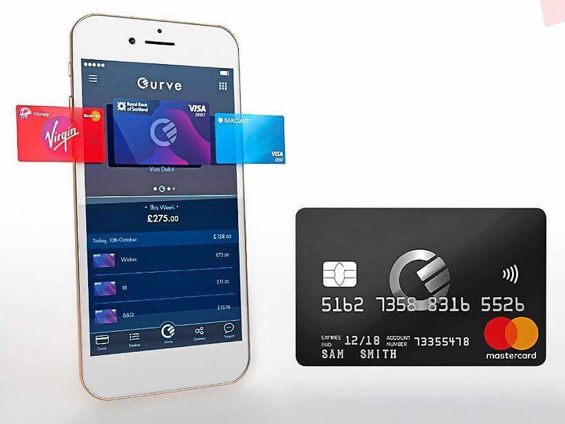 Curve mobil applikáció prepaid kártya fintech cég