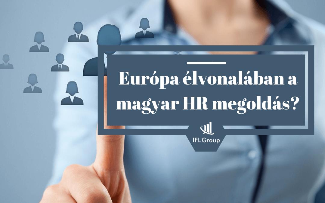 Európa élvonalában egy magyar HR tech megoldás?